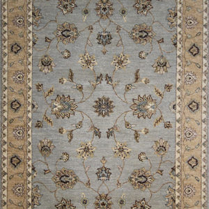 gray traditional area rug